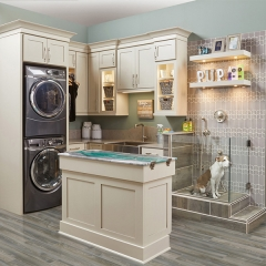 AC5203-Solid wood laundry